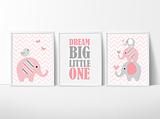 Dream Big Elephants Pink~~ Girls Set