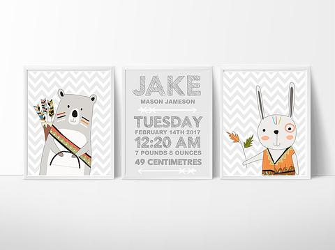 Jake~3 Piece Set