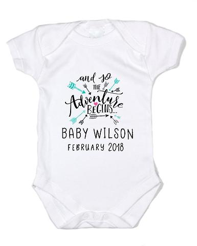 Pregnancy Announcement Bodysuit/Onesie